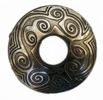 Maori Design 'Old Silver' Belt Buckle. Code BUC076